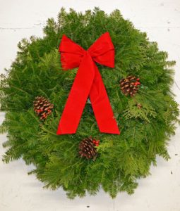 Balsam, Cedar, Pine Wreath Image