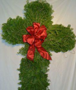 Christmas Cross Image