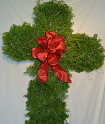 Christmas Cross Image